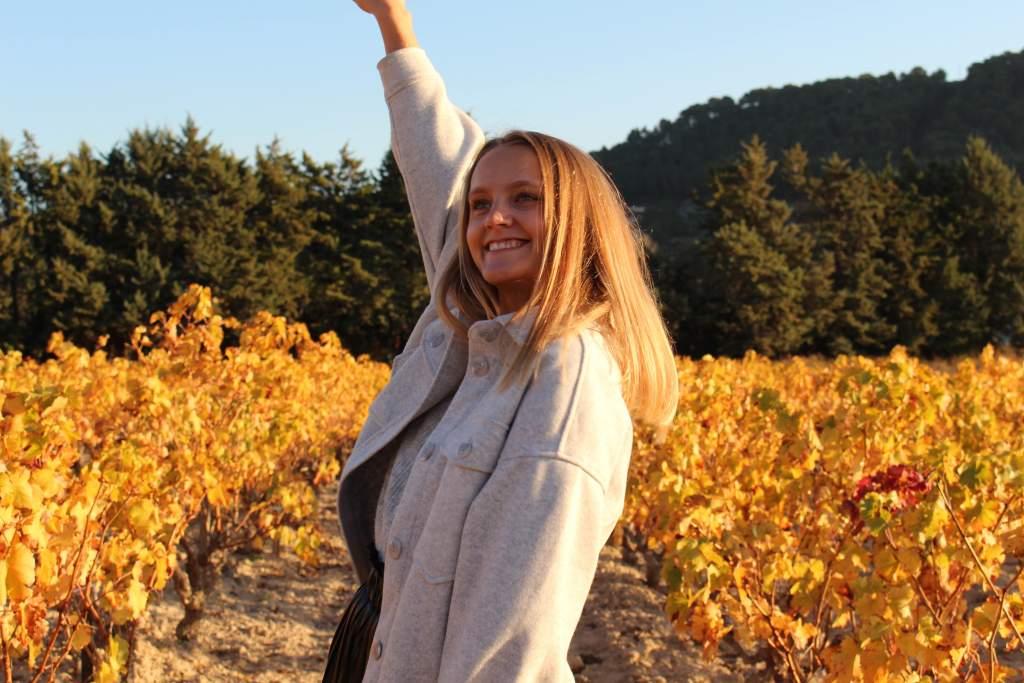 judith voyage vignes automne var
