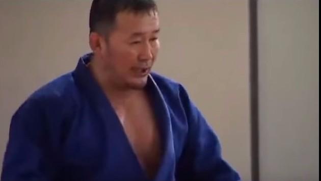 Były judoka został prezydentem Mongolii