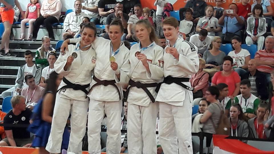 Olimpijski Festiwal Młodzieży Europy – brązowy medal Natalii Kropskiej