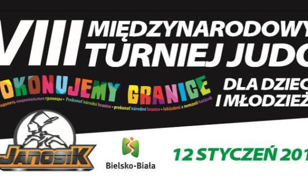 """VIII Międzynarodowy Turniej JUDO Dla Dzieci i Młodzieży """"Pokonujemy Granice"""""""