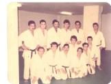 Alumnos Judo Club Andalucia ( en el Fondo Saburu Uchimoto)