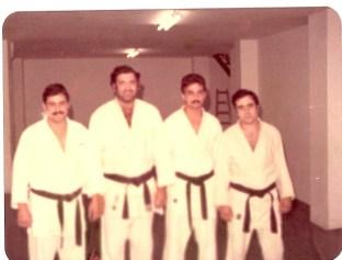 Profesores Judo Club Andalucia ( Quini, Paco, Juan Jose y Lerate)