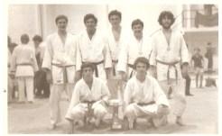 Trofeo Navidad Cordoba 1º Puesto( 2º Arriba: Paco, Luis del Castillo, Quini y Luis Salvago)