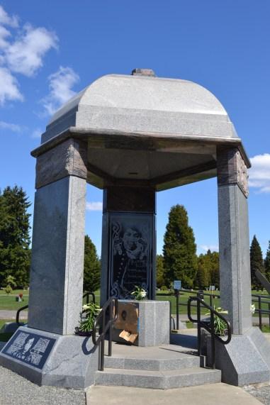 Jimi Hendrix gravesite