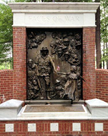 Faces of War memorial