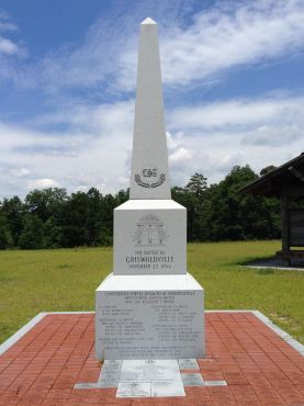 Battle of Griswoldville monument