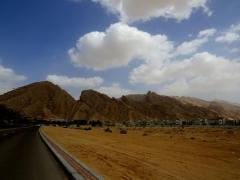 Emirati housing development at the foot of Jebel Hafeet