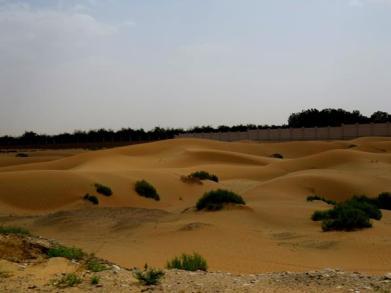 Dunes off the highway