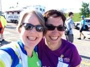 The wonderful Rebecca Shields and I