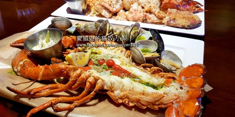 弘大美食\BIG GUY'S SEAFOOD新鮮又大隻的龍蝦,超好吃!(也有帝王蟹)