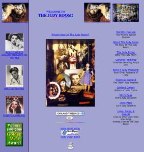 December 1999 Judy Room Homepage