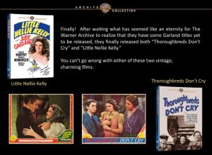 Warner Archive DVDs