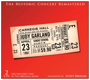 JSP Records' Judy at Carnegie Hall