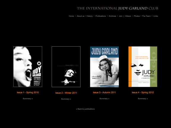The Judy Garland Club Screenshot