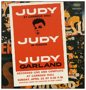 Judy Garland at Carnegie Hall - 24 karat gold CD