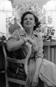 Judy Garland at the London Palladium April 8, 1951