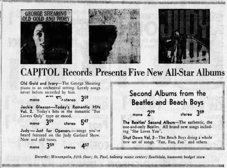 April 15, 1964 JUST FOR OPENERS AD The_Minneapolis_Star