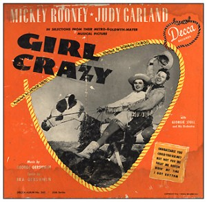 "Decca Records ""Girl Crazy"" 78 album"