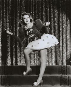 "Judy Garland in ""Ziegfeld Girl"" 1941"