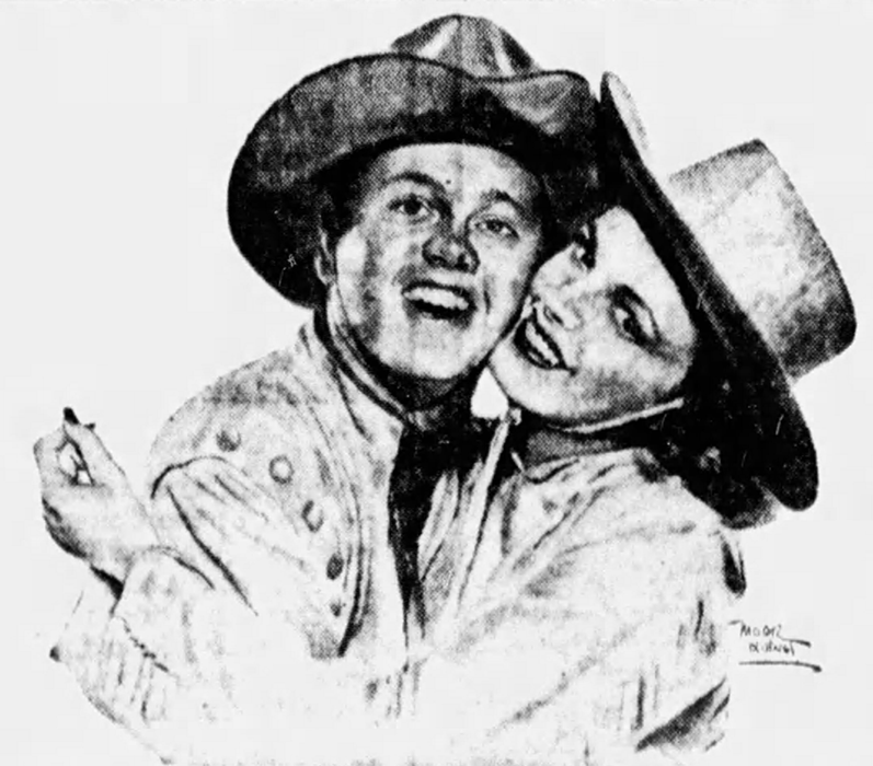 "Judy Garland and Mickey Rooney in ""Babes on Broadway"""