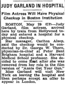 May-29,-1949-JUDY-GARLAND-IN-HOSPITAL-NY-Times-R-Smith