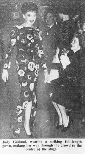 Judy Garland in Australia, May 13, 1964