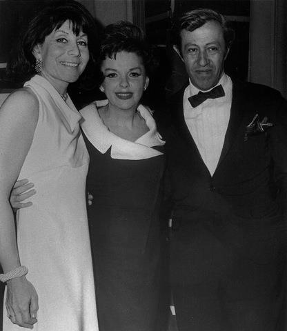 Judy Garland with Betty Comden and Adolph Green May 15, 1966