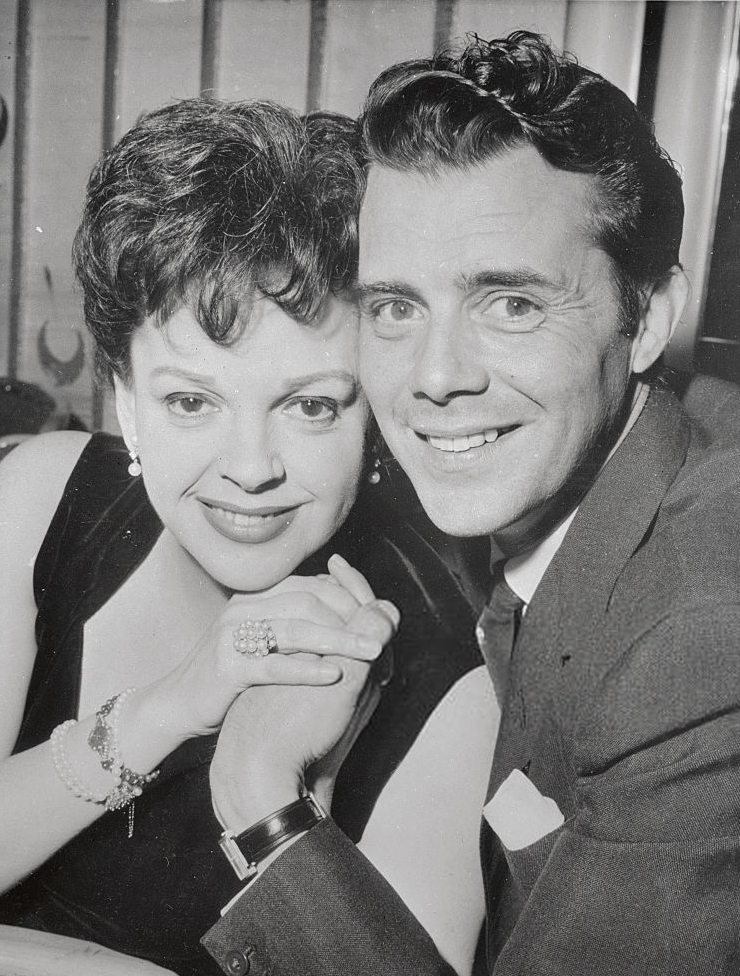 Judy Garland and Dirk Bogarde May 2, 1962