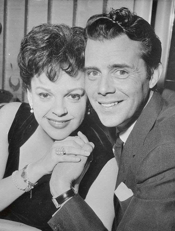 Judy Garland and Dirk Bogarde May 2, 1962