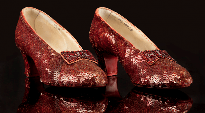 Judy Garland's Ruby Slippers from the MGM Auction 1970