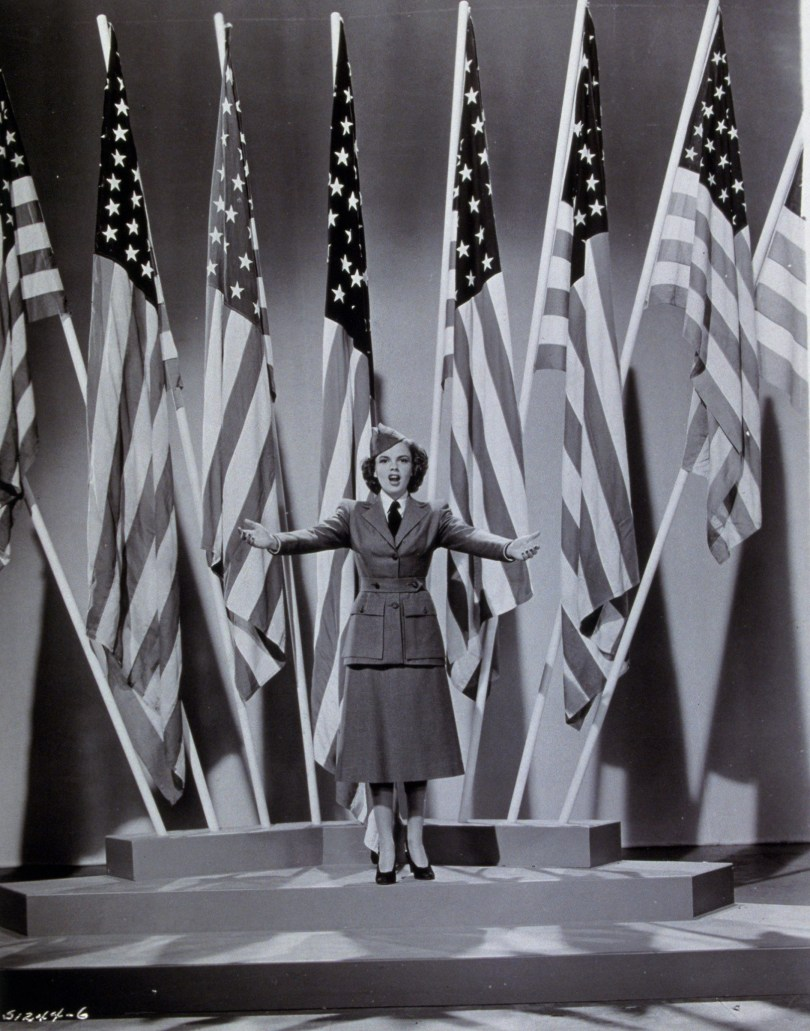 """Judy Garland in """"For Me And My Gal"""" 1942"""