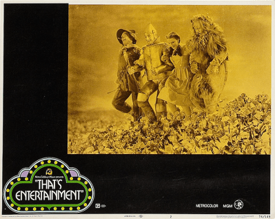 """That's Entertainment!"" lobby card 1974 Judy Garland The Wizard of Oz"