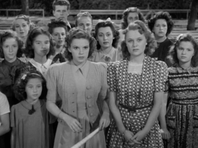 Babes in Arms starring Judy Garland and Mickey Rooney