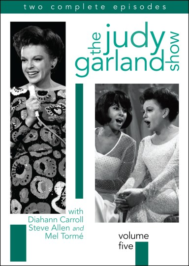 August 31, 2010 Judy Garland Volume 5 Box Art (2-D)