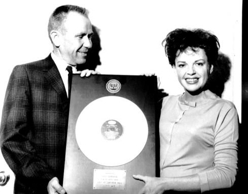 September 18, 1962 Glenn Wallichs presents Carnegie Hall certified gold by RIAA June 27, 1962