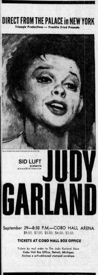 September 3, 1967 (for September 29) COBO HALL Detroit_Free_Press