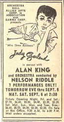 September 4, 1958 Ad for Orchestra Hall