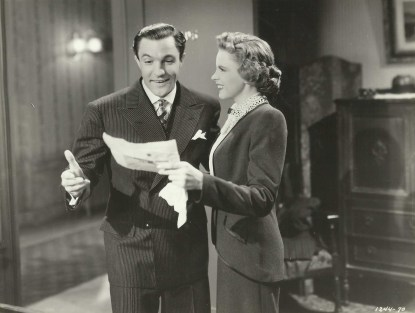 Judy Garland and Gene Kelly in For Me And My Gal