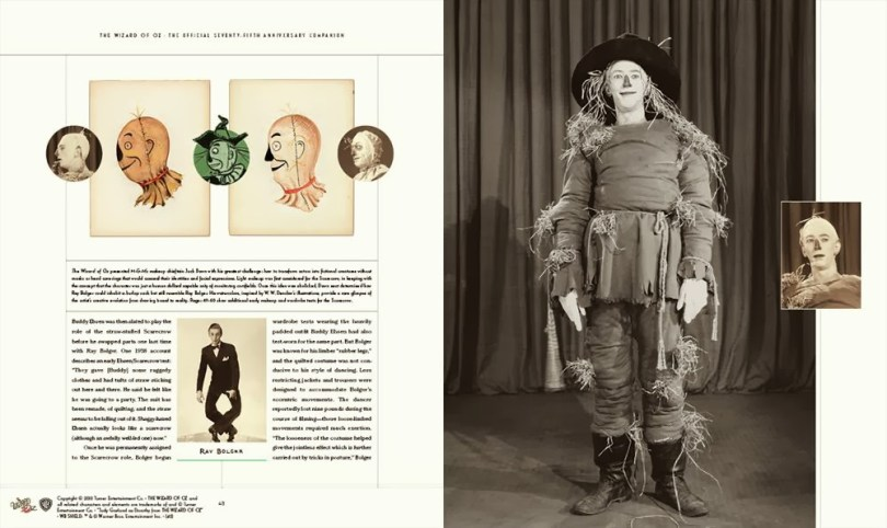 75th book Scarecrow pages