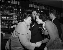 November 1, 1951 Top Banana opening night 4 with Judy Lynn