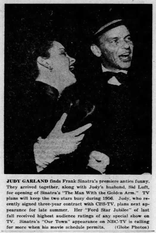 February 5, 1956 (for December 26, 1955) SINATRA PREMIERE The_Times (Munster IN)
