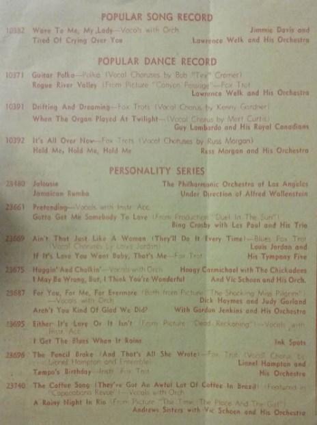 January 2, 1947 Flyer 2