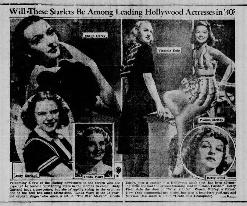 january 22, 1940 hollywood starlets the_bristol_daily_courier (pa)