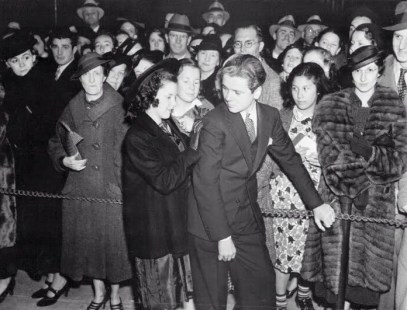 March 30, 1937 Jackie Cooper at Captains Courageous Preview 2