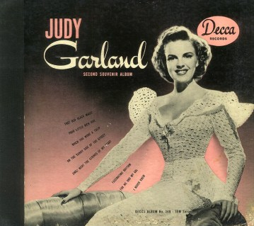 The Judy Garland Second Souvenir Album by Decca Records
