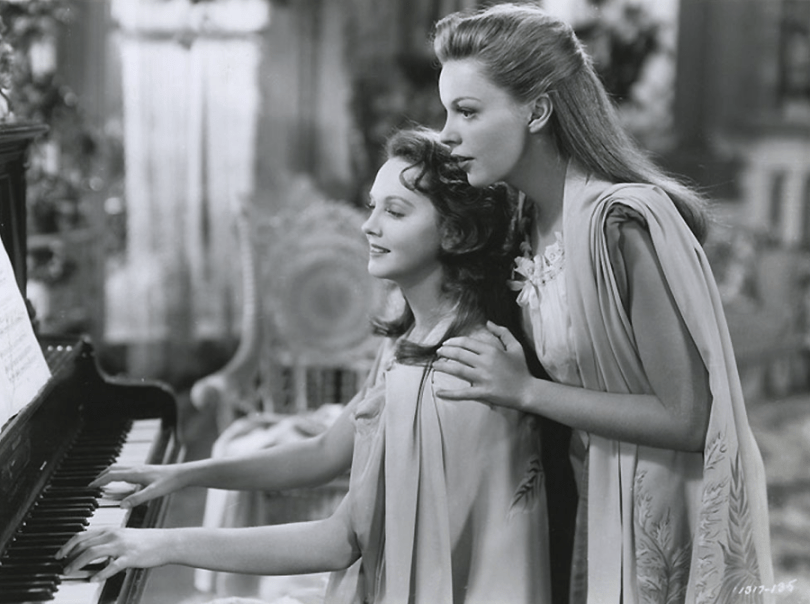 Lucille Bremer and Judy Garland sing