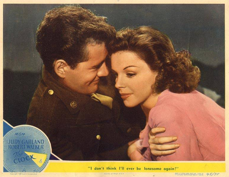 Lobby Card from The Clock