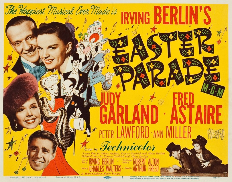 Lobby Title Card Easter Parade