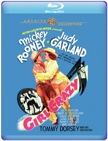 Girl Crazy on Blu-ray