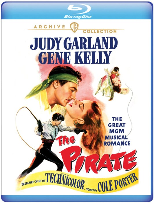 """The Pirate"" on Blu-ray from The Warner Archive"
